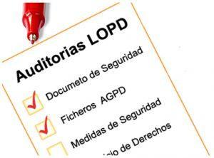 Auditoría LOPD