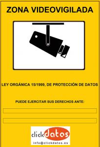 La videovigilancia y la LOPD (Ley de protección de datos personales)