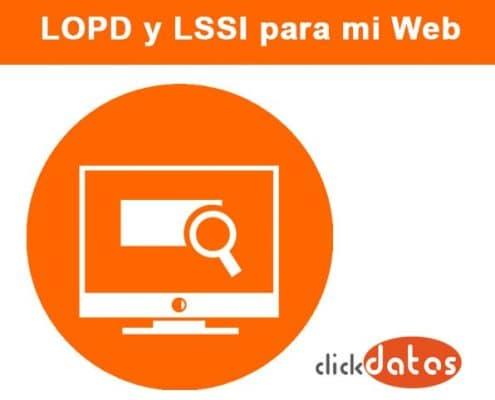 ¿Qué pasa si mi página no cumple con la LOPD y la LSSI?