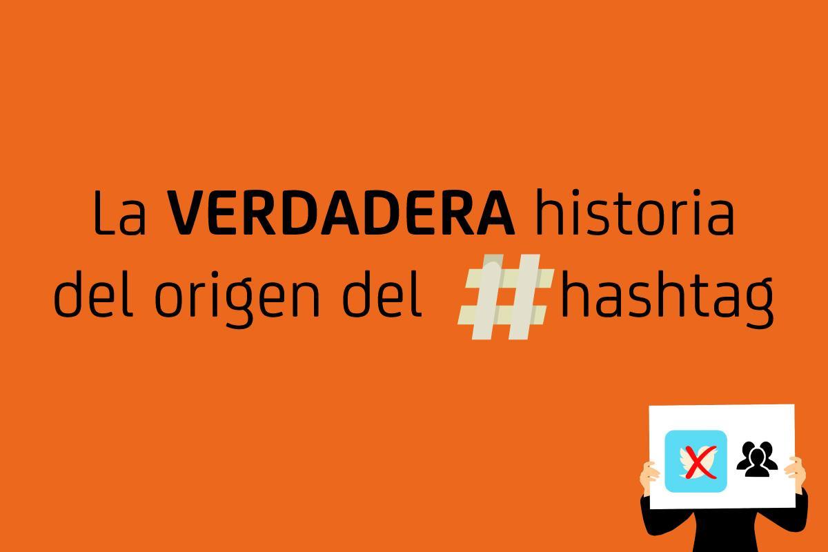 ClickDatos · La verdadera historia del origen del hashtag